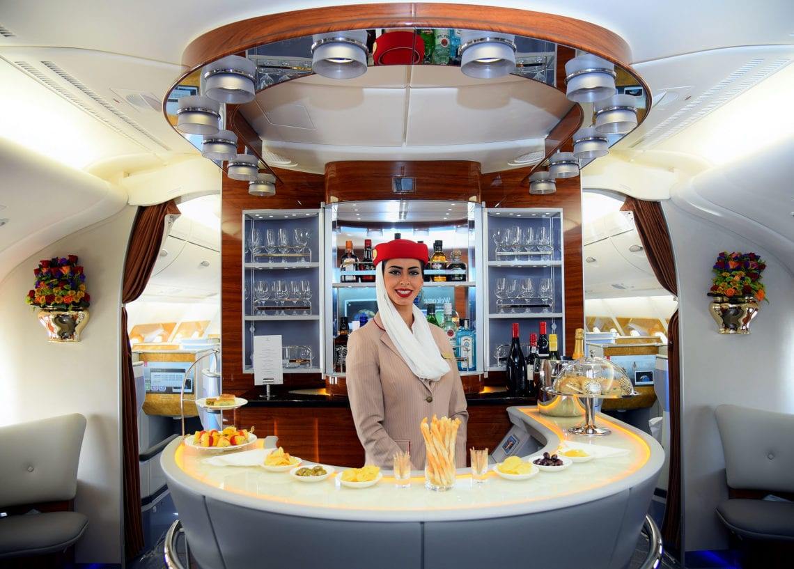 Emirates To Remove Expensive First Class Drinks To Stop Passengers From Stealing Them photo