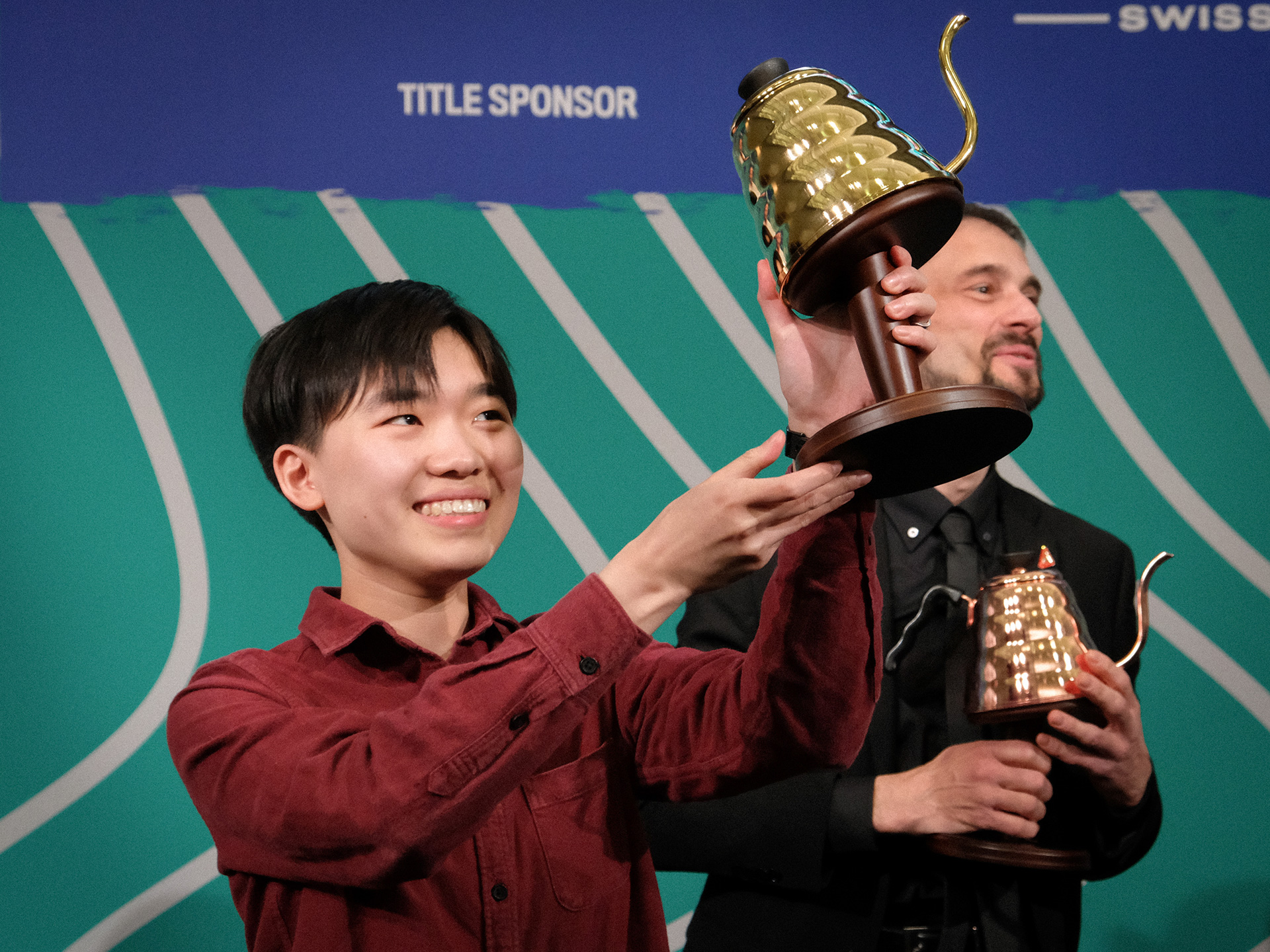 Du Jianing Of China Is The 2019 World Brewers Cup Champion photo