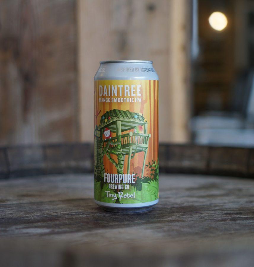 Beer Of The Week: Fourpure X Tiny Rebel Daintree Mango Smoothie Ipa photo