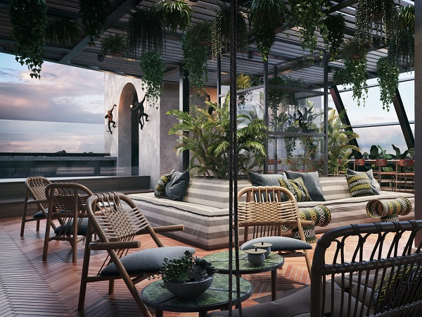 New Poolside Rooftop Bar Alert: Gigi Rooftop To Open In Cape Town?s St George?s Mall photo