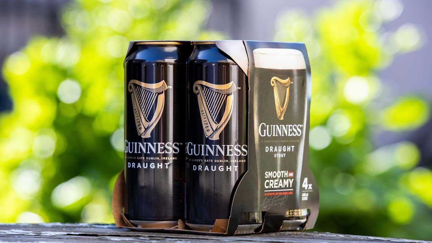Guinness Is Ditching Plastic Packaging From Its Beer Packs photo