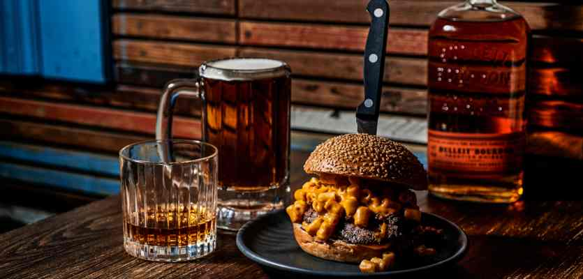 Promotion: Burgers And Bulleit ? Food Matching With Whiskey Cocktails photo