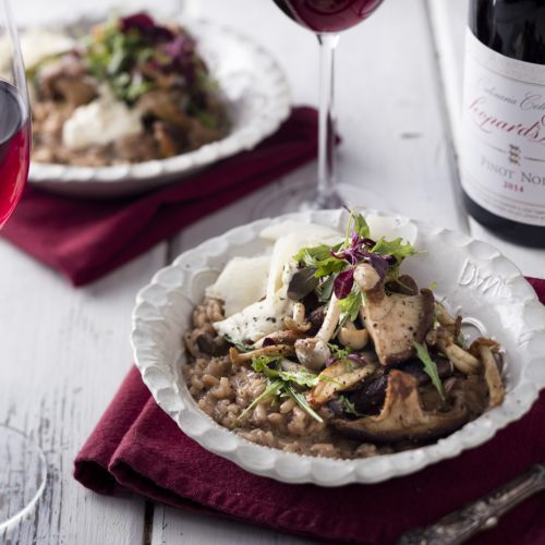 Pinot Noir and Porcini Risotto photo