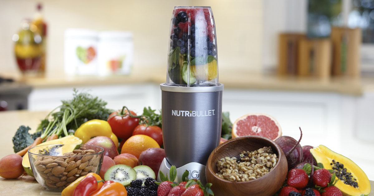 Your Five-a-day With Nutribullet In Five Minutes photo