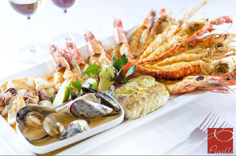 Seafood platter for two photo