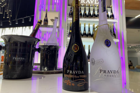 Pravda Vodka Lands At The Loop Auckland In Gtr First photo