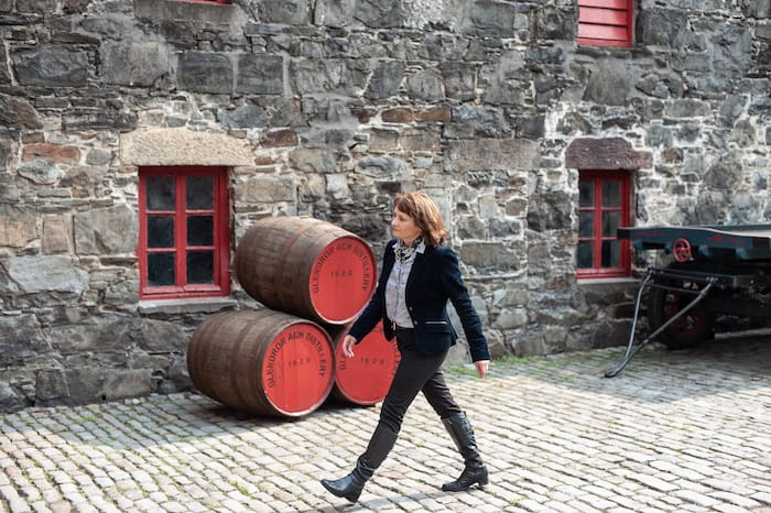Brown Forman's Rachel Barrie Plays With Old Sherry Cask Whisky For A Living photo