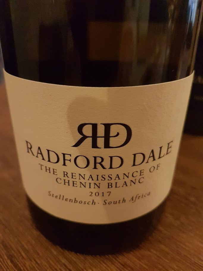 Radford Dale The Renaissance Of Chenin Blanc 2017 photo