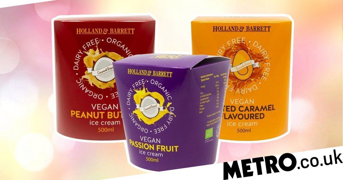 Holland & Barrett Launches Three New Vegan Ice Creams photo