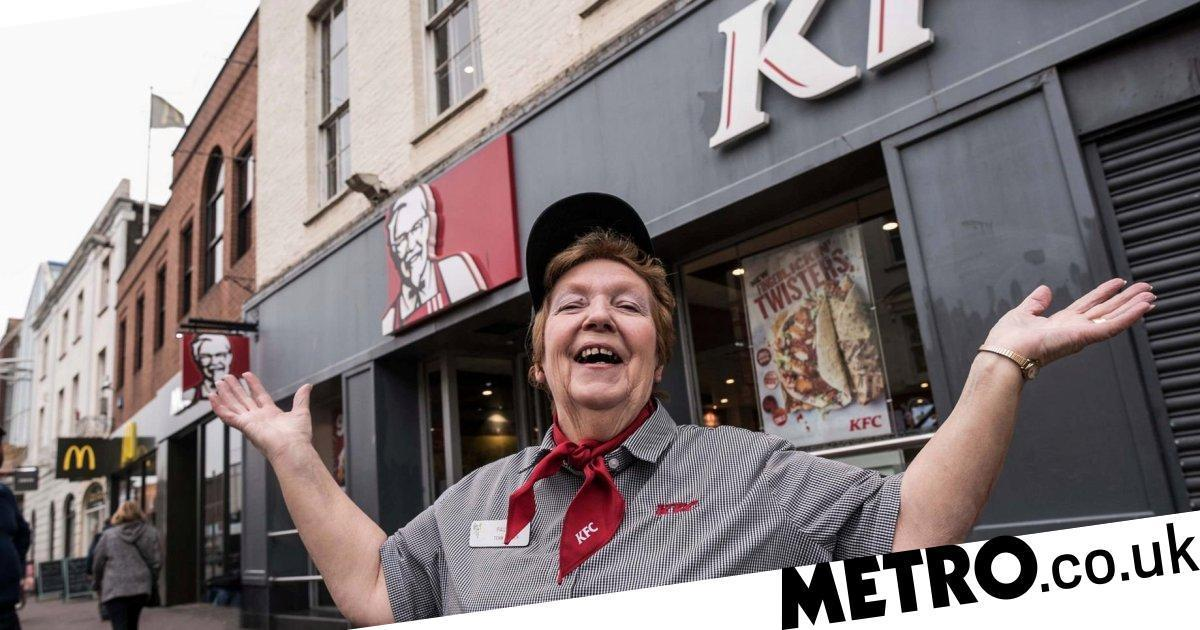 Woman Becomes Local Legend After Working At Kfc For 41 Years photo