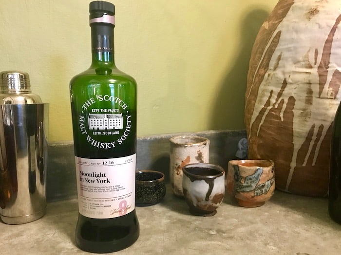 Whisky Review: Scotch Malt Whisky Society Moonlight In New York photo