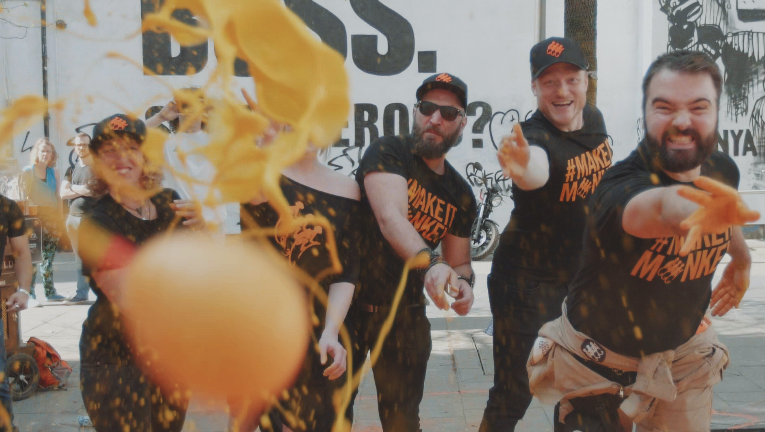 In Pictures: Creative Agency Space Creates ?playful Advert? For Monkey Shoulder photo