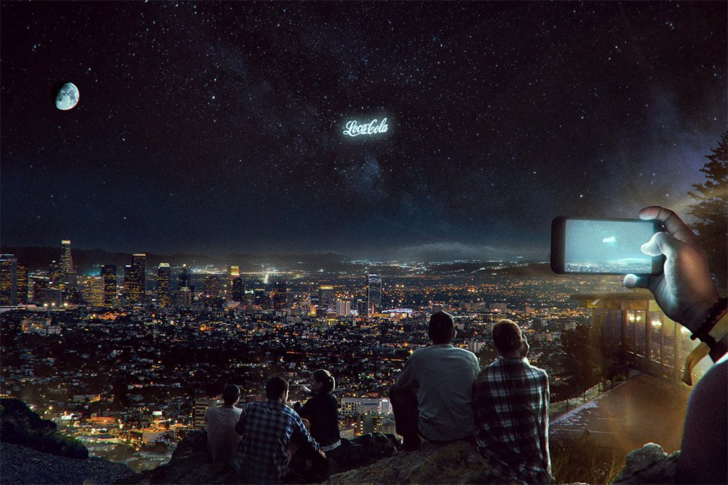 Pepsi Is Investigating Giant Billboards In The Sky To, Uh, Defend Gamers? photo