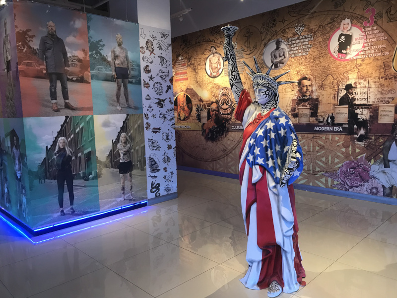 Tattoo'd America Launches At The Linq Promenade photo