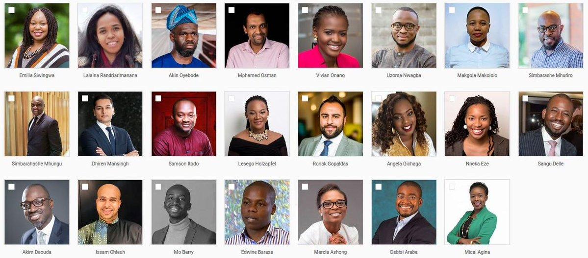 2019 Cohort For The Tutu Leadership Fellowship Announced photo