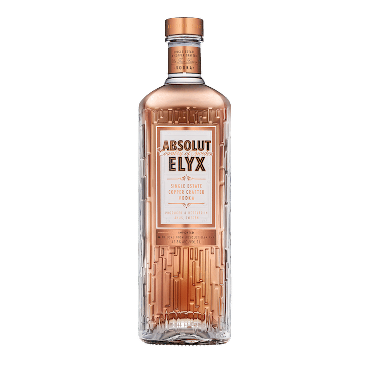 Absolut Elyx Unveils New Bottle Design photo