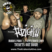 Local Legends Fuzigish To Open For Alestorm photo