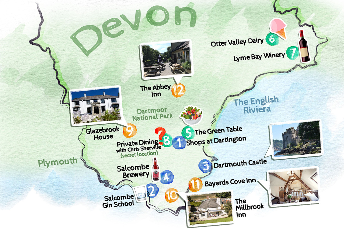 Discover Devon's Food And Drink Scene With A Map Of The County's Hotspots photo