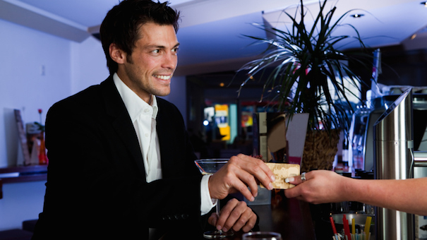 bar credit card 134480241 small 5 Tips To Keep Your Bar Tab Low