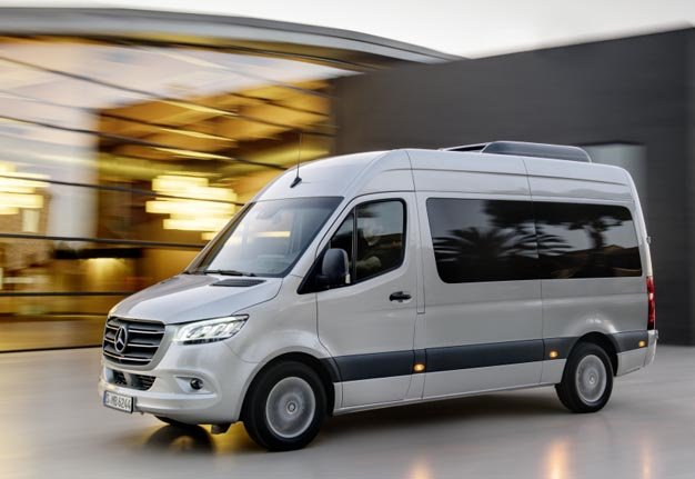 All-new Mercedes-benz Sprinter Is Born To Run In Sa photo