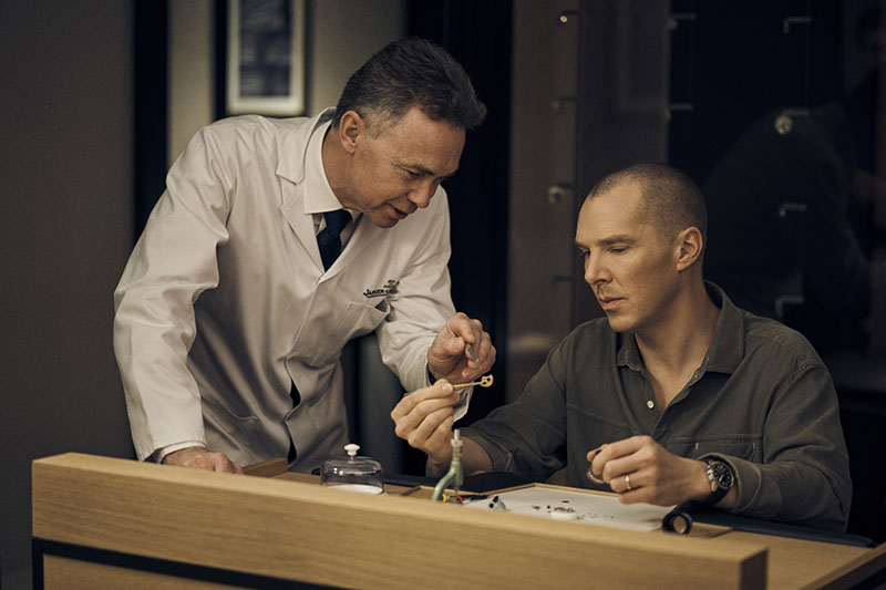 Benedict Cumberbatch Attends Jaeger-lecoultre Masterclass At London Flagship Store photo
