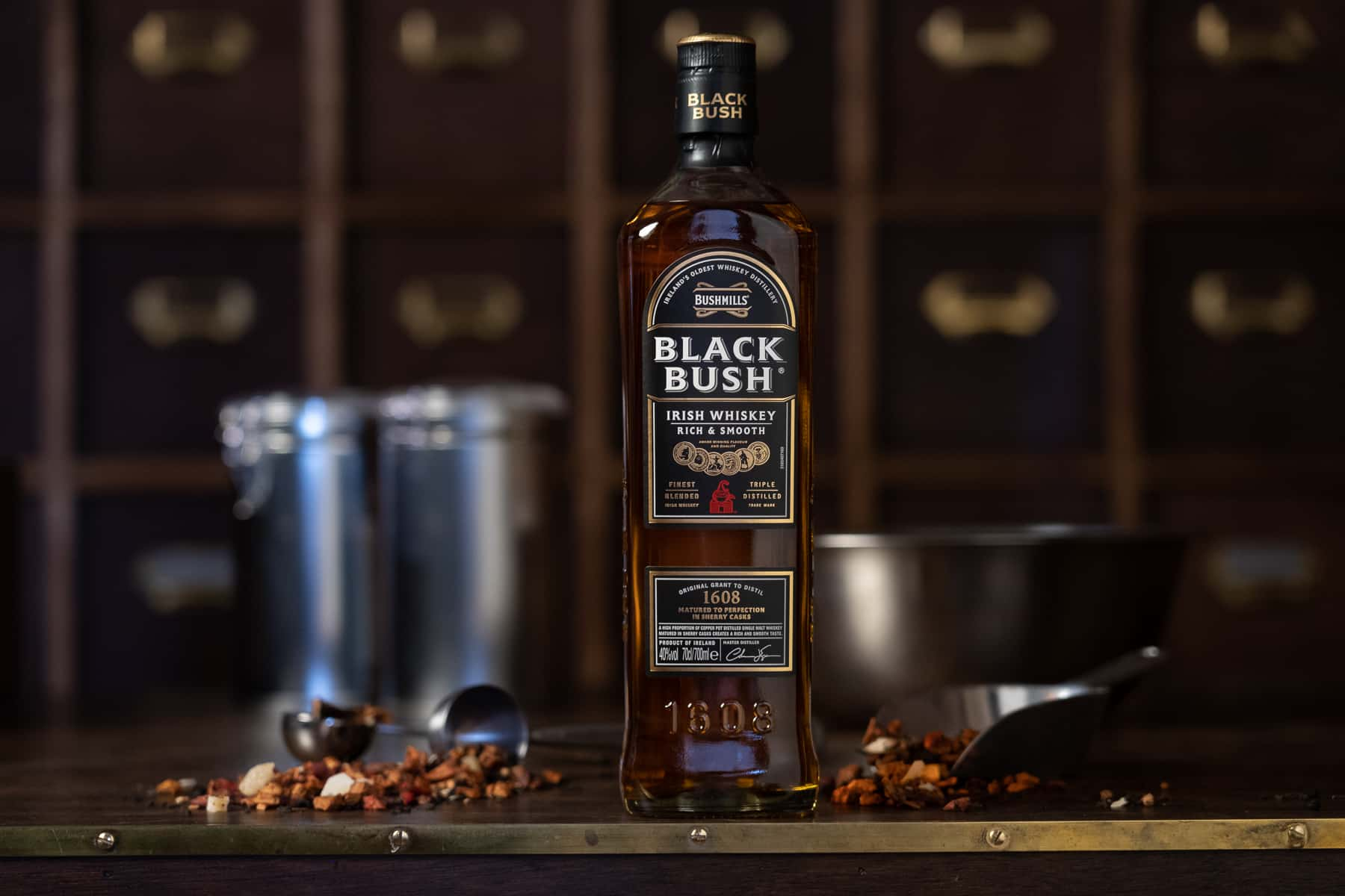 Bushmills Black Bush Is Bringing A Whiskey And Tea Blending Experience To Galway photo