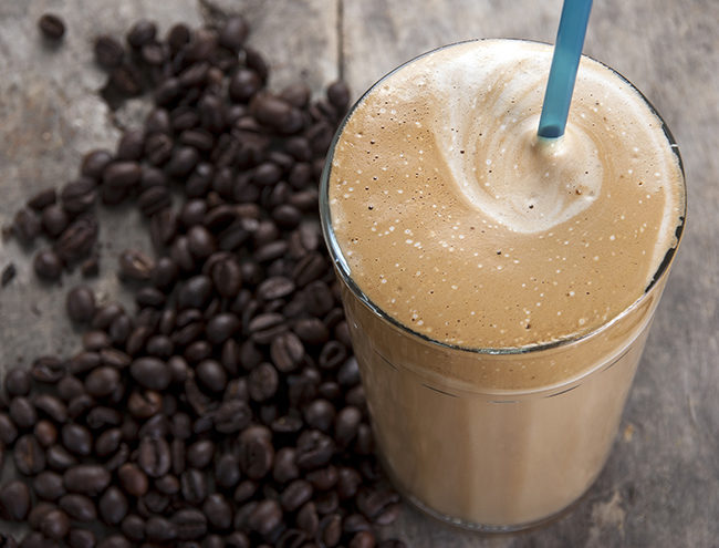 coffee smoothie 1 650x495 Hyped Up: 3 Coffee Protein Smoothie and Shake Recipes