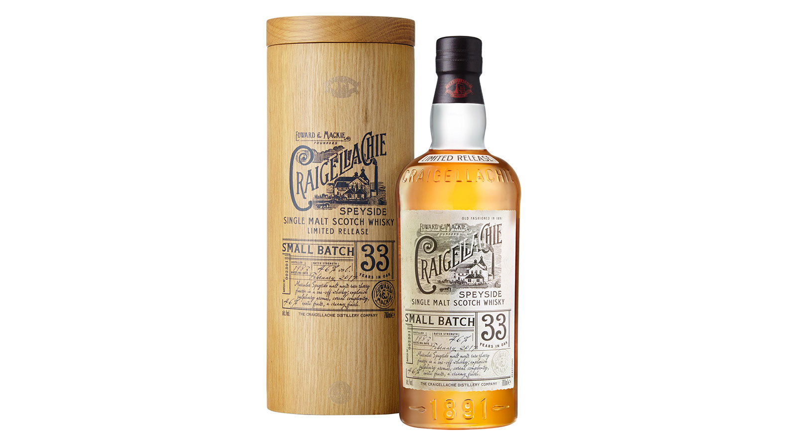 Craigellachie?s Clever 33-year-old Scotch Commands A High Price photo