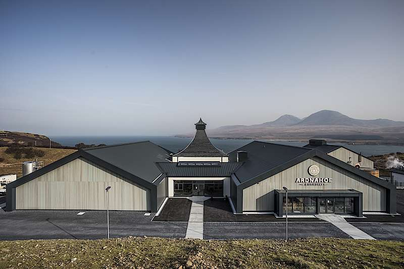 Ardnahoe Distillery On Islay Officially Open To Visitors Since Today photo