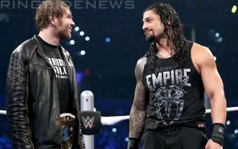 Roman Reigns Says He'll Buy Dean Ambrose Jack Daniels & Beer Every Night If He'll Stay In Wwe photo