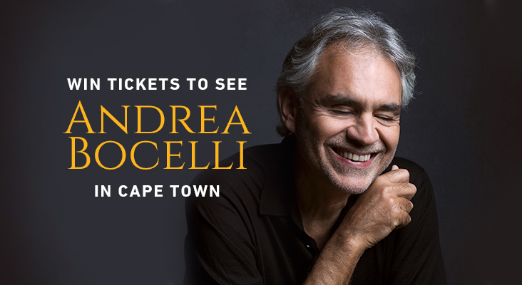 See Andrea Bocelli Live With Capetalk photo