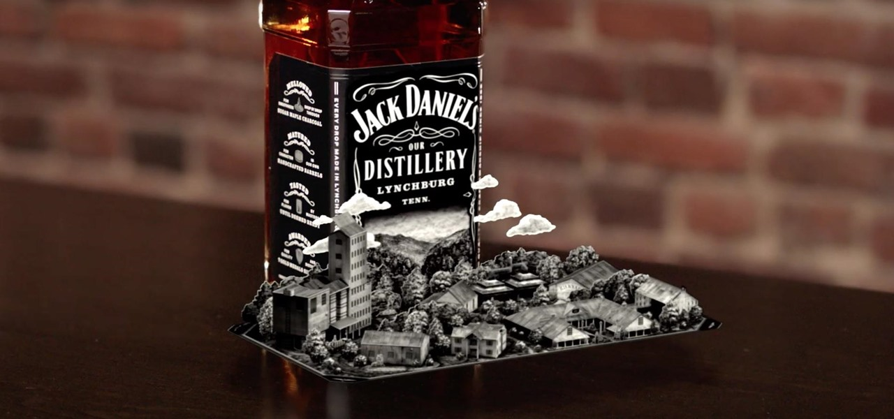 Jack Daniel's Joins The Augmented Reality Marketing Fray With Interactive Label & App photo