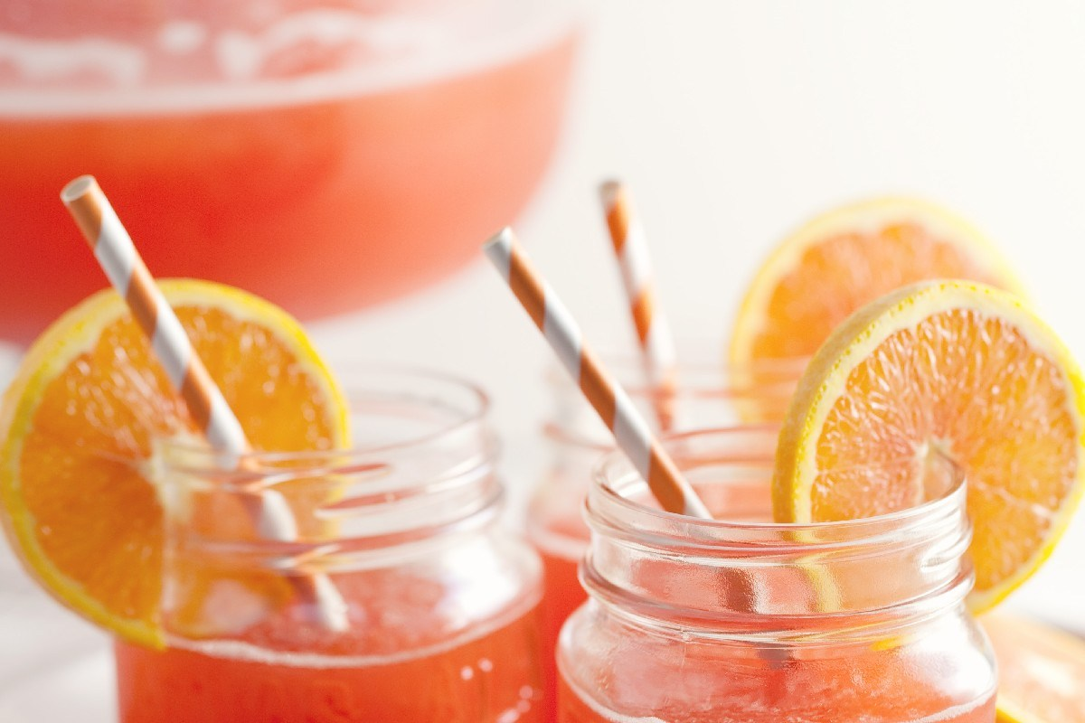 luscious slush punch Party Drinks Don't Have To Be All Alcoholic – Ideas For Non Drinkers