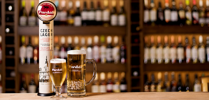 Czech Session Lager Beer Pardal Lands In The Uk On-trade photo