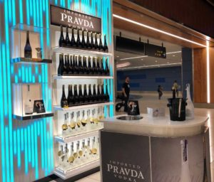 Pravda Vodka Makes Australasian Travel Retail Debut With The Loop Duty Free New Zealand photo