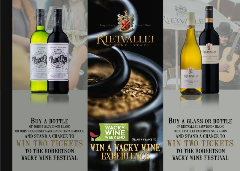 Win A Wacky Wine Experience With Rietvallei photo