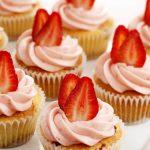 Strawberry ABV Cupcakes photo
