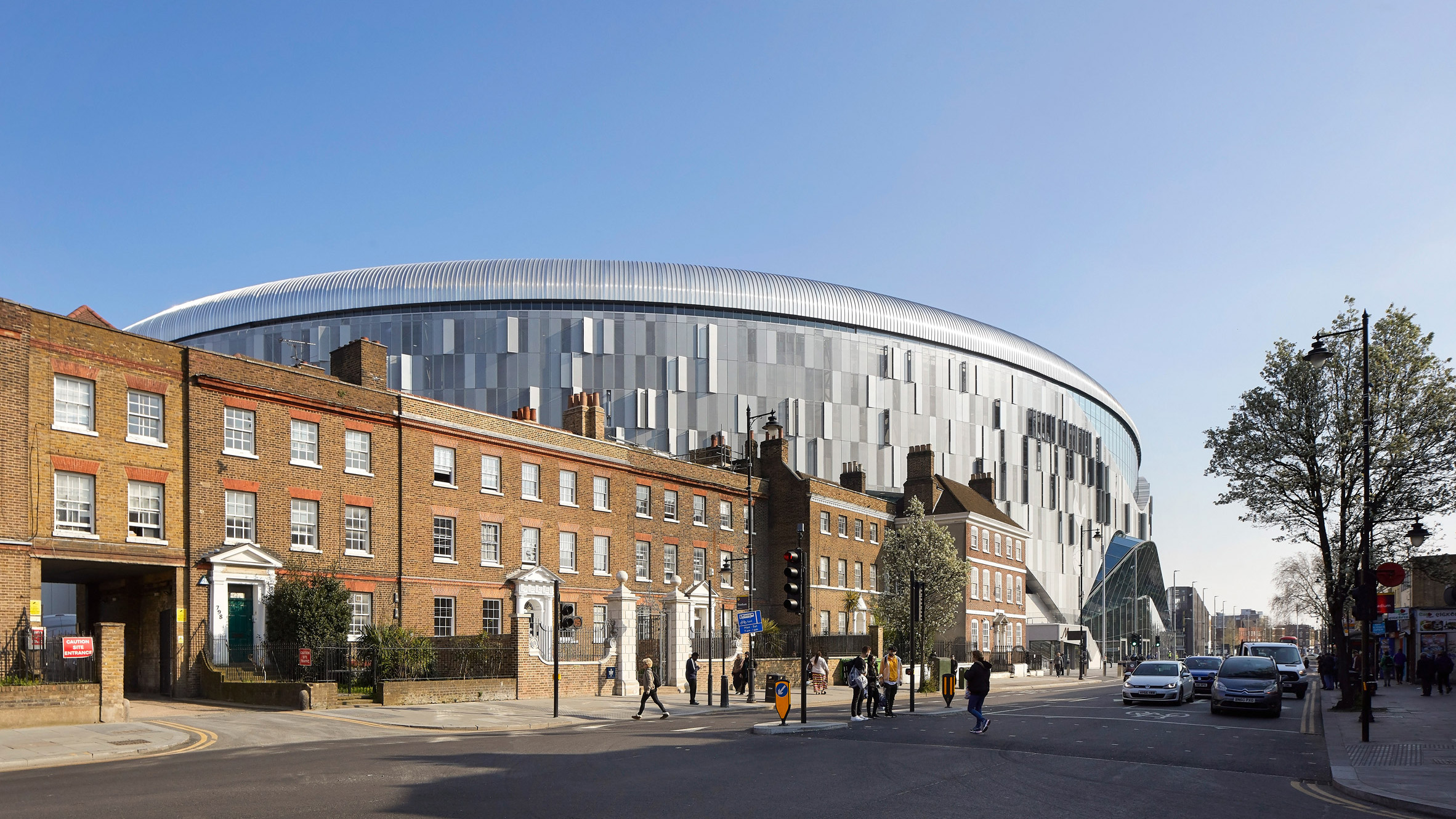 "Populous Completes ""best Stadium In The World"" For Tottenham Hotspur photo"