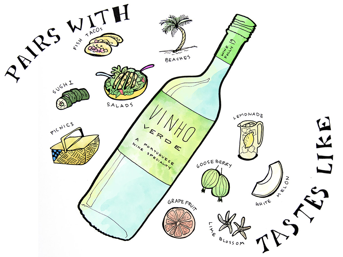 Vinho Verde: The Perfect Poolside Wine From Portugal photo