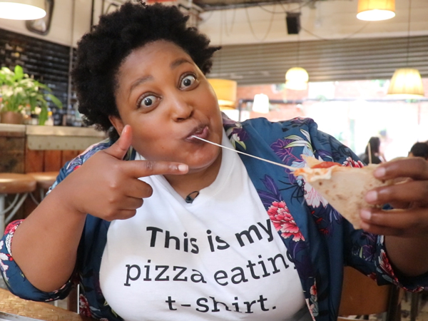 Watch: Zola Nene Goes On The Hunt For Cape Town's Best Pizza photo
