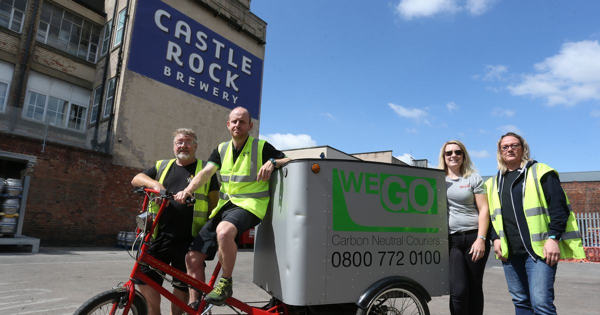 Castle Rock Beers To Be Delivered On Bikes In City Centre photo