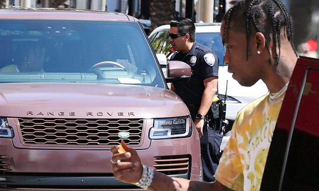 Travis Scott Gets Off Scot-free After Blocking Rodeo Drive Traffic photo
