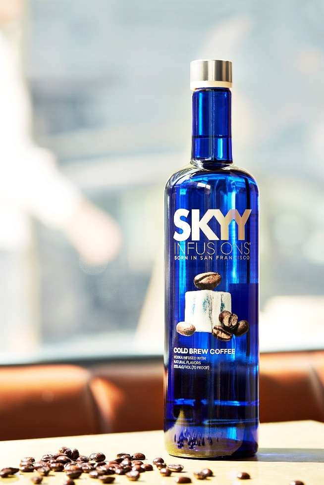 Skyy Vodka Launches Limited-edition Skyy Infusions Cold Brew Coffee photo