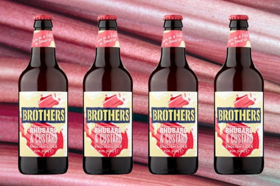 Aldi Is Selling Rhubarb And Custard Flavour Cider ? And Shoppers Are Chuffed photo