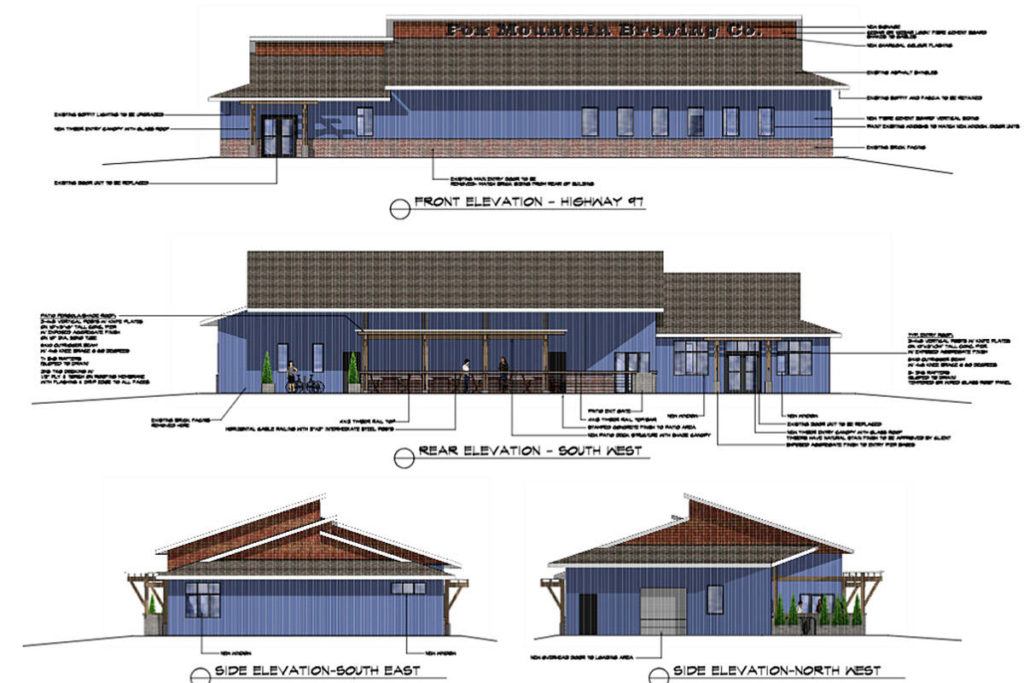 Fox Mountain Brewing Co. Submits Final Detailed Design photo