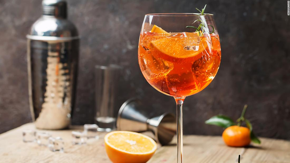 Is This Where We Are As A Nation? Fighting Over Aperol Spritz photo