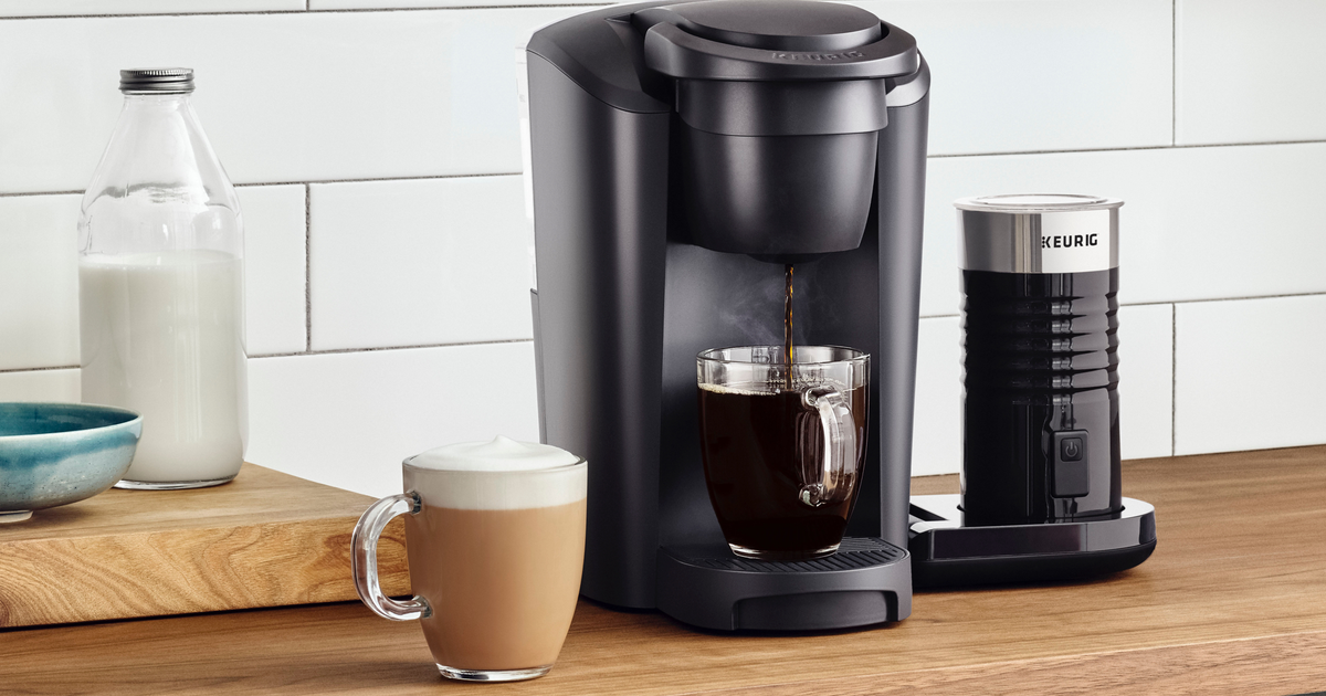 The Keurig K-latte Coffee Maker Is $19 Off At Walmart photo