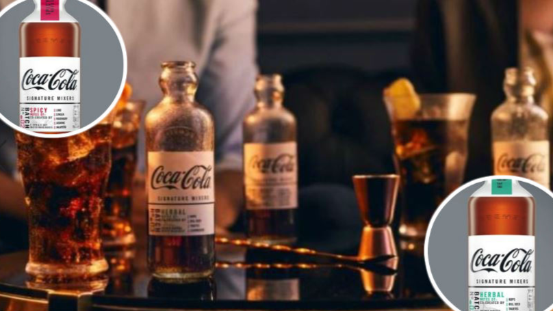 Coca-cola Is Launching A Posh Coke That You Can Mix With Spirits photo