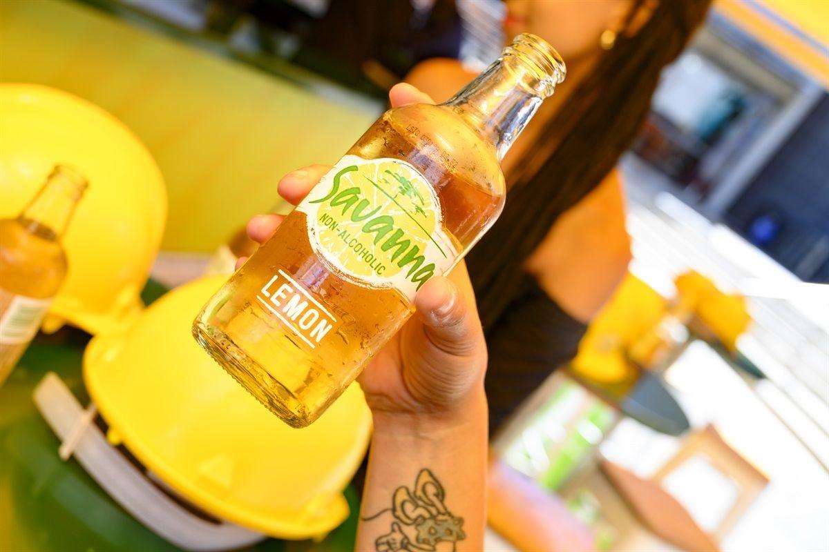 Savanna Non-alcoholic Lemon: Break The Rules, Change Your World photo