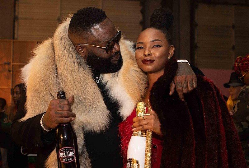 Yemi Alade And Rick Ross Toast To Their New-found Love With Belaire & Bumbu In ?oh My Gosh? Remix photo